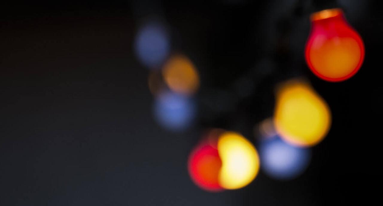 Coloured LED Light Bulbs